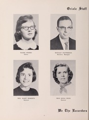 Page 14, 1959 Edition, Pulaski High School - Oriole Yearbook (Pulaski, VA) online yearbook collection