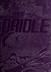 1963 Edition, Pulaski High School - Oriole Yearbook (Pulaski, VA)