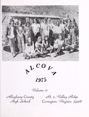 Page 5, 1975 Edition, Alleghany County High School - Alcova Yearbook (Covington, VA) online yearbook collection