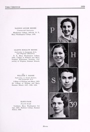 Page 15, 1939 Edition, Poquoson High School - York Chronicle Yearbook (Poquoson, VA) online yearbook collection