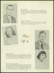 Page 14, 1951 Edition, Poquoson High School - York Chronicle Yearbook (Poquoson, VA) online yearbook collection