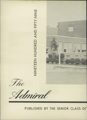 Page 6, 1959 Edition, Cradock High School - Admiral Yearbook (Portsmouth, VA) online yearbook collection