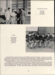 James Monroe High School - Echo Yearbook (Fredericksburg, VA) online yearbook collection, 1954 Edition, Page 60