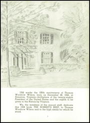 Page 11, 1956 Edition, Wilson Memorial High School - Hornets Nest Yearbook (Fishersville, VA) online yearbook collection