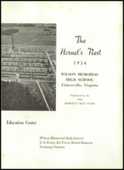 Page 7, 1956 Edition, Wilson Memorial High School - Hornets Nest Yearbook (Fishersville, VA) online yearbook collection