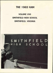 Page 7, 1963 Edition, Smithfield High School - Ham Yearbook (Smithfield, VA) online yearbook collection