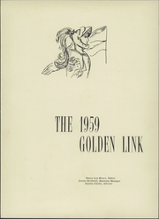 Page 5, 1959 Edition, Bluestone High School - Golden Link Yearbook (Skipwith, VA) online yearbook collection