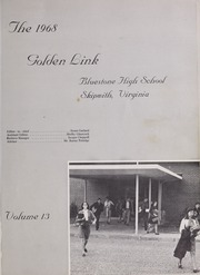 Page 5, 1968 Edition, Bluestone High School - Golden Link Yearbook (Skipwith, VA) online yearbook collection