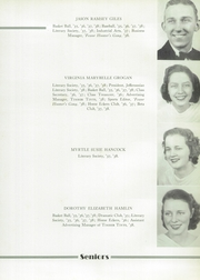 Page 17, 1938 Edition, John D Bassett High School - Timber Tints Yearbook (Bassett, VA) online yearbook collection