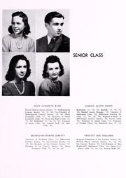 Page 15, 1940 Edition, John D Bassett High School - Timber Tints Yearbook (Bassett, VA) online yearbook collection