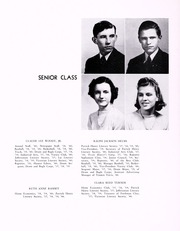 Page 16, 1940 Edition, John D Bassett High School - Timber Tints Yearbook (Bassett, VA) online yearbook collection
