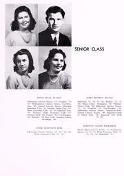 Page 17, 1940 Edition, John D Bassett High School - Timber Tints Yearbook (Bassett, VA) online yearbook collection