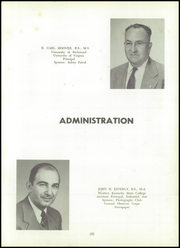 Page 13, 1957 Edition, John D Bassett High School - Timber Tints Yearbook (Bassett, VA) online yearbook collection