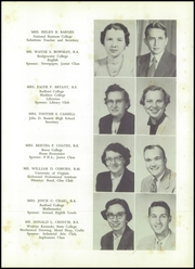 Page 15, 1957 Edition, John D Bassett High School - Timber Tints Yearbook (Bassett, VA) online yearbook collection