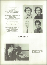 Page 16, 1957 Edition, John D Bassett High School - Timber Tints Yearbook (Bassett, VA) online yearbook collection