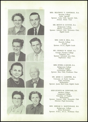 Page 17, 1957 Edition, John D Bassett High School - Timber Tints Yearbook (Bassett, VA) online yearbook collection