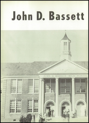 Page 8, 1957 Edition, John D Bassett High School - Timber Tints Yearbook (Bassett, VA) online yearbook collection