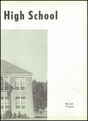 Page 9, 1957 Edition, John D Bassett High School - Timber Tints Yearbook (Bassett, VA) online yearbook collection