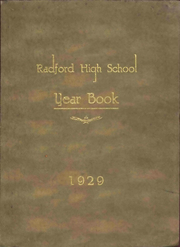 Page 1, 1929 Edition, Radford High School - Oak Leaf Yearbook (Radford, VA) online yearbook collection