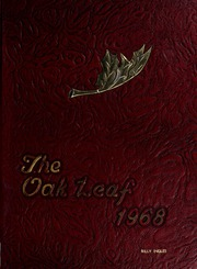 Radford High School - Oak Leaf Yearbook (Radford, VA) online yearbook collection, 1968 Edition, Page 1