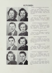 Page 16, 1951 Edition, Broadway High School - Memories Yearbook (Broadway, VA) online yearbook collection