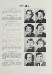 Page 17, 1951 Edition, Broadway High School - Memories Yearbook (Broadway, VA) online yearbook collection