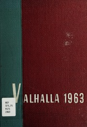 1963 Edition, Powell Valley High School - Valhalla Yearbook (Big Stone Gap, VA)