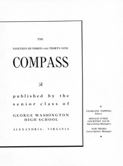 Page 7, 1939 Edition, George Washington High School - Compass Yearbook (Alexandria, VA) online yearbook collection