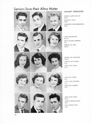 Page 16, 1954 Edition, George Washington High School - Compass Yearbook (Alexandria, VA) online yearbook collection