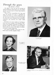 Page 14, 1960 Edition, George Washington High School - Compass Yearbook (Alexandria, VA) online yearbook collection