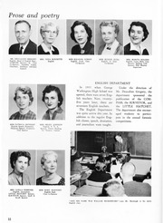 Page 16, 1960 Edition, George Washington High School - Compass Yearbook (Alexandria, VA) online yearbook collection
