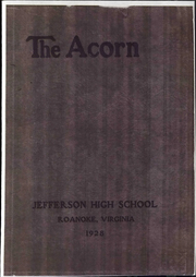 Jefferson High School - Acorn Yearbook (Roanoke, VA) online yearbook collection, 1928 Edition, Page 1