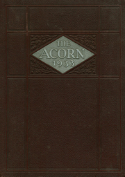 Jefferson High School - Acorn Yearbook (Roanoke, VA) online yearbook collection, 1933 Edition, Page 1