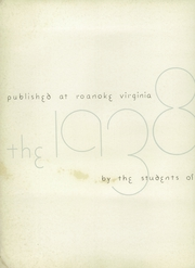 Page 4, 1938 Edition, Jefferson High School - Acorn Yearbook (Roanoke, VA) online yearbook collection