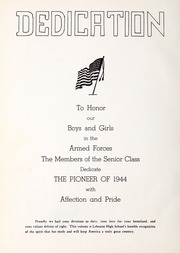 Page 6, 1944 Edition, Lebanon High School - Pioneer Yearbook (Lebanon, VA) online yearbook collection