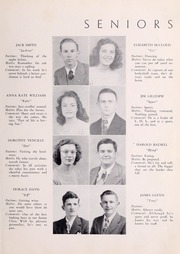 Page 11, 1948 Edition, Lebanon High School - Pioneer Yearbook (Lebanon, VA) online yearbook collection