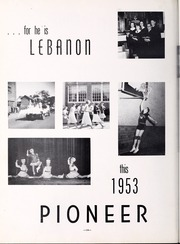 Page 16, 1953 Edition, Lebanon High School - Pioneer Yearbook (Lebanon, VA) online yearbook collection