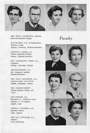 Page 10, 1957 Edition, New Kent High School - Iliad / Cavalier Yearbook (New Kent, VA) online yearbook collection