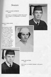 Page 13, 1957 Edition, New Kent High School - Iliad / Cavalier Yearbook (New Kent, VA) online yearbook collection