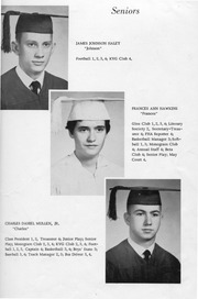 Page 15, 1957 Edition, New Kent High School - Iliad / Cavalier Yearbook (New Kent, VA) online yearbook collection