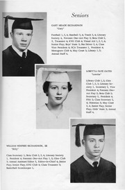 Page 17, 1957 Edition, New Kent High School - Iliad / Cavalier Yearbook (New Kent, VA) online yearbook collection