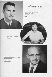 Page 9, 1957 Edition, New Kent High School - Iliad / Cavalier Yearbook (New Kent, VA) online yearbook collection