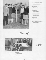 Page 14, 1968 Edition, New Kent High School - Iliad / Cavalier Yearbook (New Kent, VA) online yearbook collection