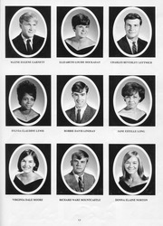 Page 17, 1968 Edition, New Kent High School - Iliad / Cavalier Yearbook (New Kent, VA) online yearbook collection