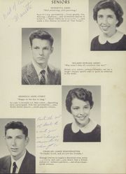 Page 15, 1956 Edition, Clarke County High School - Talon Yearbook (Berryville, VA) online yearbook collection