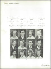 Page 16, 1944 Edition, Covington High School - Puffs and Patches Yearbook (Covington, VA) online yearbook collection