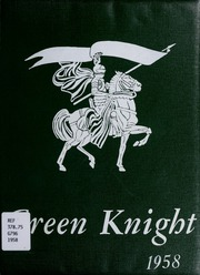 Page 1, 1958 Edition, Clintwood High School - Green Knight Yearbook (Clintwood, VA) online yearbook collection