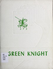 Page 1, 1965 Edition, Clintwood High School - Green Knight Yearbook (Clintwood, VA) online yearbook collection