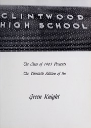 Page 5, 1965 Edition, Clintwood High School - Green Knight Yearbook (Clintwood, VA) online yearbook collection