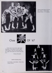 Page 10, 1967 Edition, Clintwood High School - Green Knight Yearbook (Clintwood, VA) online yearbook collection
